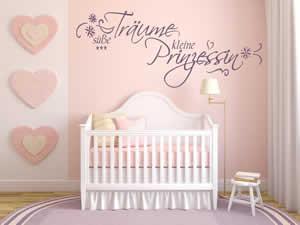 Babyzimmer Wandtatoo